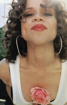 Ms. Rosie Perez :) My favorite Virgo - (My Sun in Leo/Vrgo cusp; My Mercury, Uranuz & Pluto in Virgo)