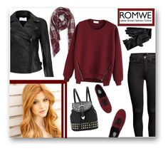 """ROMWE"" by veronica7777 ❤ liked on Polyvore featuring St. John, H&M, Vans, MuuBaa, Sole Society and Tommy Hilfiger"
