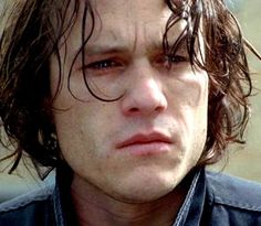Heath Ledger was a very expressive actor.  He communicated so much even before he said anything.  What an actor!
