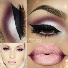 purple smokey eye for brown eyes - Google Search