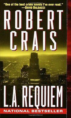L. A. Requiem (Elvis Cole) by Robert Crais http://www.amazon.com/dp/0345434471/ref=cm_sw_r_pi_dp_yAfNub1D51EPK