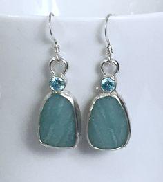 Amazonite Earrings The Ultimate Gift, Instagram Feed, Blue Green, Drop Earrings, Gemstones, Pearls, Sterling Silver, Gifts, Twitter