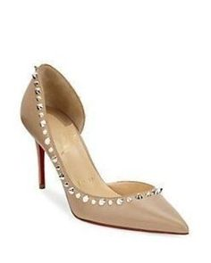 Christian Louboutin Irishell 85 Nappa Leather d'Orsay Pumps iE5XDR