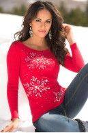 Winter sky sweater|Boston Proper