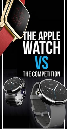 The Apple Watch is finally ready for your wrist but, before you make a move, see how it compares with the best smartwatches in the biz.