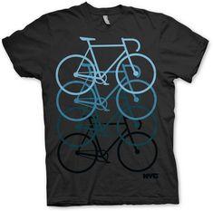 """NYC pushing track bike"" tee #mountainbikeshirt Cycling T Shirts, Bike Shirts, Bike Logo, Shirt Designs, Bike Wear, Bike Style, Graphic Shirts, Shirt Style, Mens Tops"