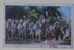 Comanche men - 1927