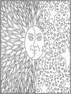 Creative Haven Out of This World! Designs Coloring Book <3