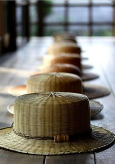 eefce6adade Japanese bamboo hat by Taketora ( When you own your breath