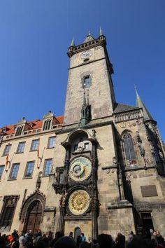 Relógio de praça de Praga