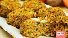 Babeczki warzywne z piekarnika - FIT OBIAD Kobieceinspiracje.pl Mashed Potatoes, Cauliflower, Tasty, Vegetables, Ethnic Recipes, Fitness, Food, Cauliflowers, Meal