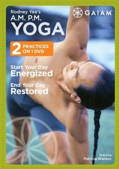 Rodney Yee's A.M. P.M. Yoga (Start Your Day Energized | End Your Day Restored). Checked this out from the library one day a few years ago and have yet to find an instructional yoga video I like more for everyday use! $13.72
