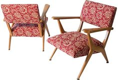 Italian Modern Armchairs, Pair on OneKingsLane.com