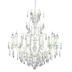 Virgin 12-Arm Chandelier by The French Bedroom Company