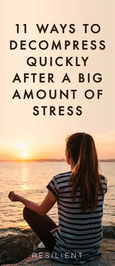 11 Ways to Decompress After High Stress - Resilient - Trend Relationship Quotes 2019 Work Stress, Reduce Stress, How To Relieve Stress, Anxiety Tips, Stress And Anxiety, Anxiety Humor, Anxiety Tattoo, Anxiety Therapy, Healthy Relationships