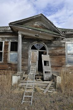Abandoned school house, Gascoyne, North Dakota      ........................................................ Please save this pin... ........................................................... Because For Real Estate Investing... Visit Now!  http://www.OwnItLand.com