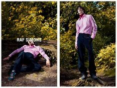 Raf Simons AW 2013 Photography: Willy Vanderperre Styling: Olivier Rizzo