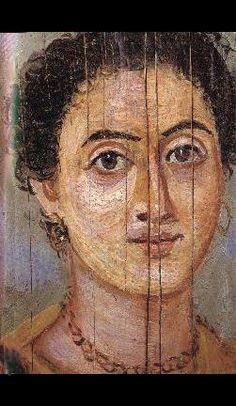 Ancient Roman Fayum portraits✖️Roman Fayum Mummy Portraits ✖️ More Pins Like This One At FOSTERGINGER @ Pinterest ✖️