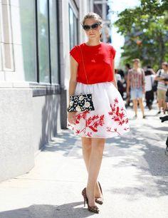 1b24535d42c0 New York Fashion Week Street Style