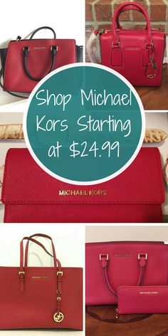 Love Michael Kors, but on a budget? Now you can shop Michael Kors handbags, wallets, wristlets, and more at up to 70% off. Tap to download the FREE app now.