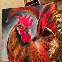 Red Rooster The First – Dimitrie Ross // ross-fineart.com