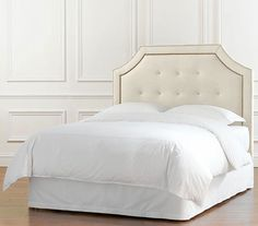 Can't find an upholstered headboard that I love... wonder if I should try to make my own!