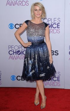 Julianne Hough Beaded Dress - Julianne Hough Looks - StyleBistro