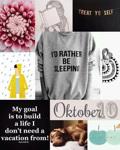 To Do: Oktober | Jul