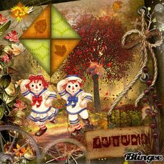 *RAGGEDY ANN & ANDY ~ Autumn