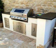 """Outdoorküche mit BeefEater Einbaugrill! #outdoorküche #outdoor #grill #outdoorkitchen #beefeaterbbq…"""""""
