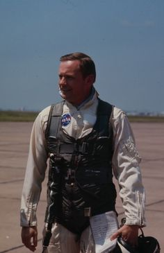 Neil Armstrong, Ellington Air Force Base, Texas, 1969. http://www.davesweb.cnchost.com/