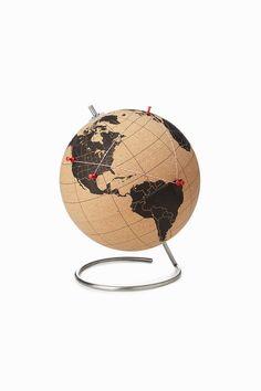 Cork Globe by Suck UK