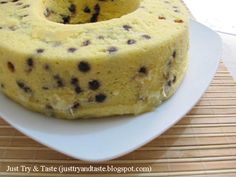 Just Try & Taste: Cake Tape Singkong & Chocolate Chips Kukus