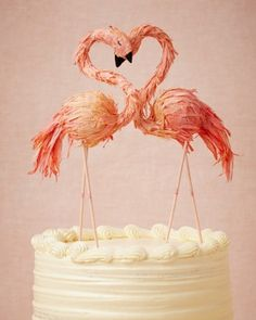 Cake Topper : Pretty in Pink