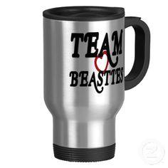 Team Beasties travel mug.