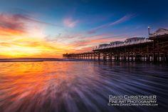 Crystal Pier, Pacific Beach Landscape Photography by San Diego Landscape Photographer, David Christopher. #sandiego #pacificbeach #crystalpier #fineart# landscapephotography | SanDiegoLandscapePhotography.com