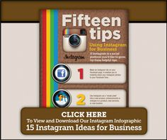 15 INSTAGRAM IDEAS FOR BUSINESS Instagram is a powerful platform for communicating though visual imagery and photographs. Learn how you can implement some of these strategies  in your social media marketing.