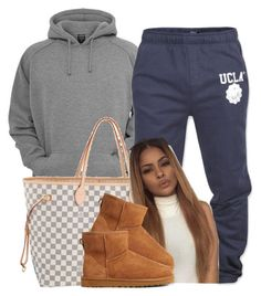 """Untitled #484"" by princess-miyah ❤ liked on Polyvore featuring Louis Vuitton and UGG Australia"