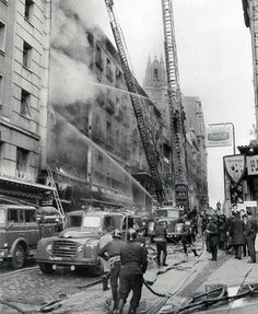 Incendio en los almacenes Arias. 1964 http://ibytes.es/blog_historia_de_madrid_fotografias_1907-1965.html
