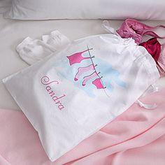 Ladies Personalized Travel Laundry Bag - 2796