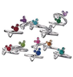 AVON - Mickey Mouse Ring (I bought this for myself with Keean's birthstone - It's my MiMi ring)