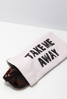 Take Me Away Sunglasses Case | FOREVER21 | #f21home
