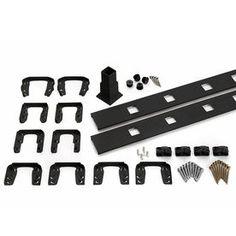 Trex Transcend Charcoal Black Composite Deck Adapter 809350