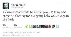 Jim Gaffigan Funny Celebritty Tweet