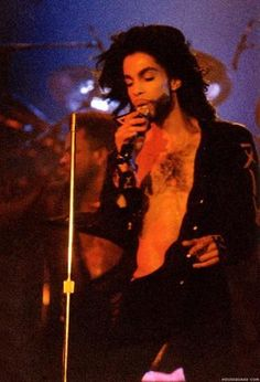 """Prince. (Maybe during """"Nude Tour"""" era?)"""