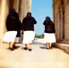 Nuns in Trani, Italy by just_jeanette, via Flickr
