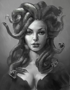Medusa by LiannanShe on Deviantart.