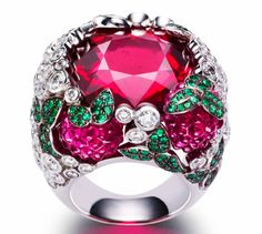 ★ Piaget raspberry daiquiri ring ★