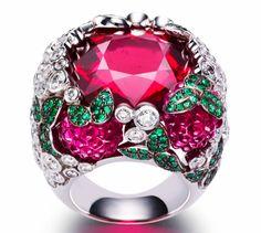Piaget raspberry daiquiri ring