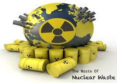 #NuclearWaste is one of the most dangerous reasons for pollution , which affects our #Environment. The use of Nuclear Power should be very minimum in order to save our Earth.
